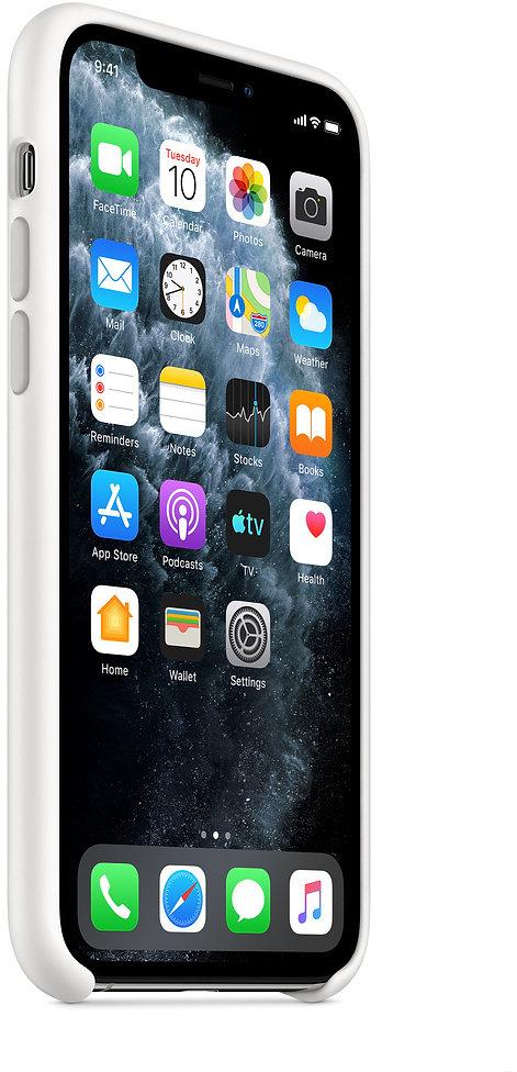 Apple silikonový kryt na iPhone 11 Pro, bílá - obrázek č. 0