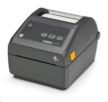 Zebra DT tiskárna etiket ZD420, 203 dpi, USB, USB Host, Modular Connectivity Slot, LAN - obrázek č. 0