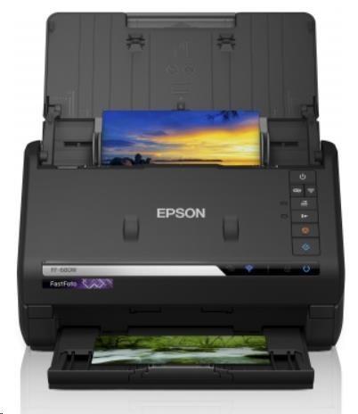EPSON skenerFastFoto FF-680W, A4, 600x600dpi, 24 bits Color Depth, USB 3.0, Wireless LAN - obrázek č. 0