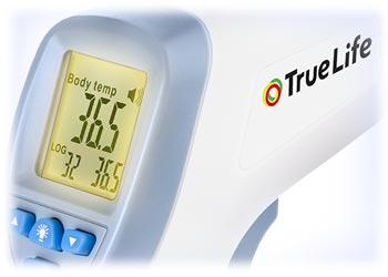 TrueLife Care Q7 bezdotykový zdravotní teploměr - obrázek č. 6