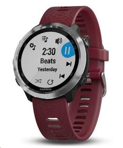 Garmin GPS sportovní hodinky Forerunner 645 Optic Music, Red - obrázek č. 0