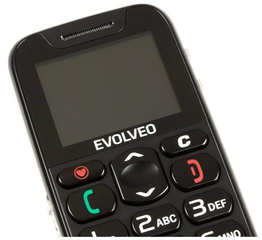 EVOLVEO EasyPhone, mobilní telefon pro seniory s nabíjecím stojánkem - obrázek č. 2