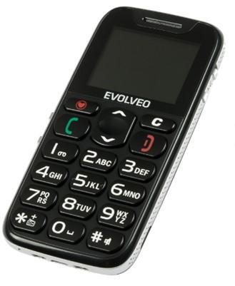 EVOLVEO EasyPhone, mobilní telefon pro seniory s nabíjecím stojánkem - obrázek č. 0