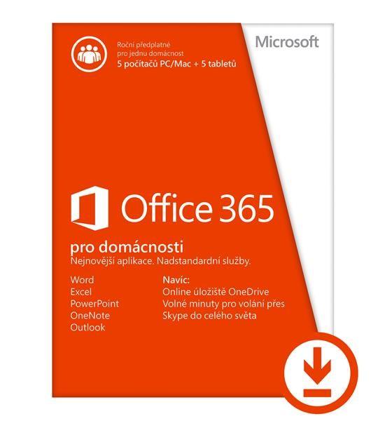 Office 365 Home ESD (pro domácnosti, 1rok) - obrázek č. 0