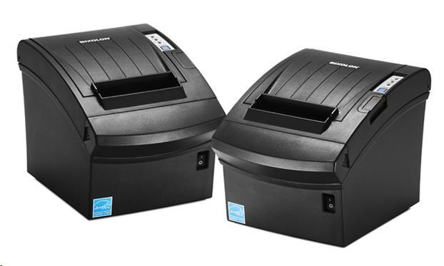 BIXOLON/Samsung SRP-350III pokladní termotiskárna, RS232, černá, řezačka, zdroj - obrázek č. 0