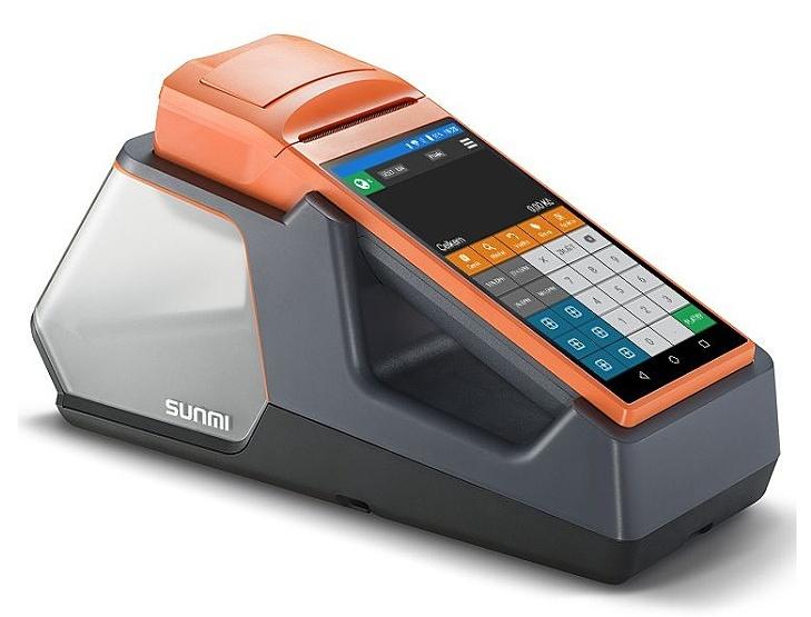 SUNMI EET-POS V1s - mobilní EET terminál s tiskárnou - obrázek č. 1