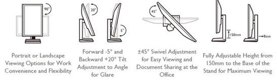 "BenQ BL2205PT - LED monitor 22"" - obrázek č. 2"