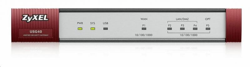 ZyXEL ZyWALL USG 40 Security Firewall - obrázek č. 0