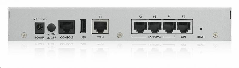 ZyXEL ZyWALL USG 40 Security Firewall - obrázek č. 1