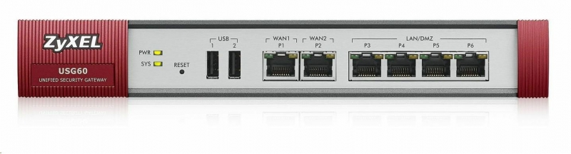 Zyxel ZyWALL USG60 UTM Security Firewall - obrázek č. 0