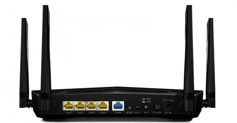 Zyxel NBG6817 ARMOR Z2 WiFi router - obrázek č. 1