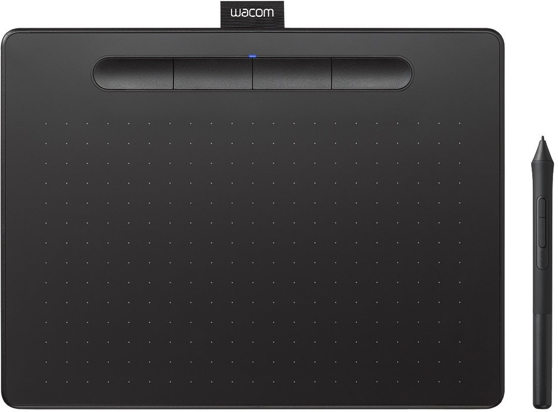 Wacom Intuos M Bluetooth - grafický tablet, černá - obrázek č. 0