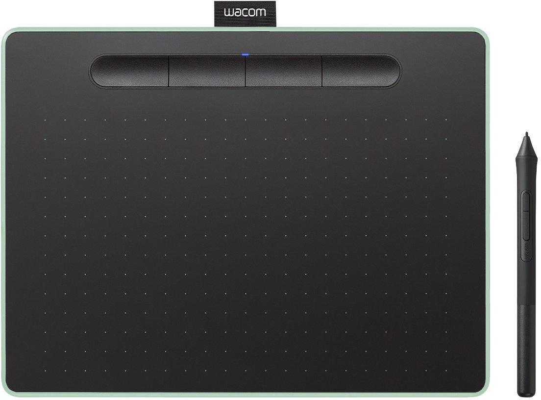 Wacom Intuos M Bluetooth - grafický tablet, pistáciová - obrázek č. 0