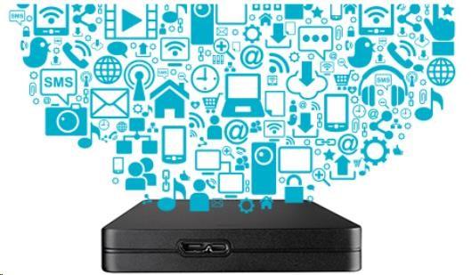 Toshiba Canvio Alu 3S - 500GB, černý - obrázek č. 3