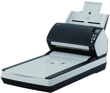 FUJITSU skener Fi-7260 A4, deska i průchod, 60ppm, 80listů podavač, USB 3.0, 600dpi, CCDs, oboustranný sken - obrázek č. 0