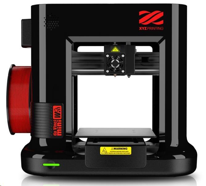 3D tiskárna XYZ da Vinci Mini W+ Černá - obrázek č. 0