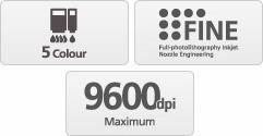 Canon PIXMA iP110 - přenosná inkoustová tiskárna - obrázek č. 4