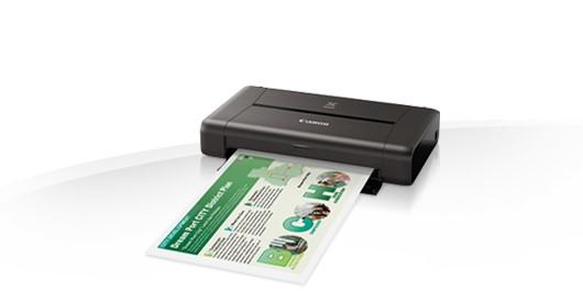 Canon PIXMA iP110 - přenosná inkoustová tiskárna - obrázek č. 0