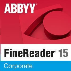 ABBYY FineReader 15 Corporate, Single User License (ESD), Perpetual - obrázek č. 0