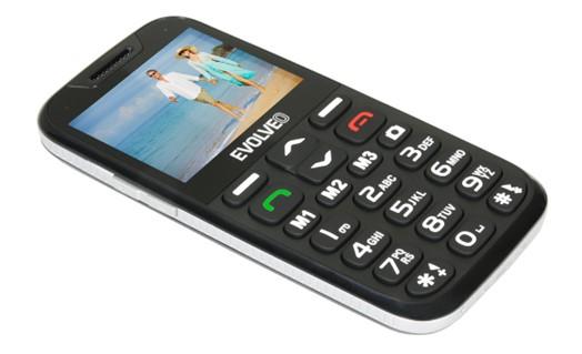 EVOLVEO EasyPhone XD s nabíjecím stojánkem - modrý - obrázek č. 0