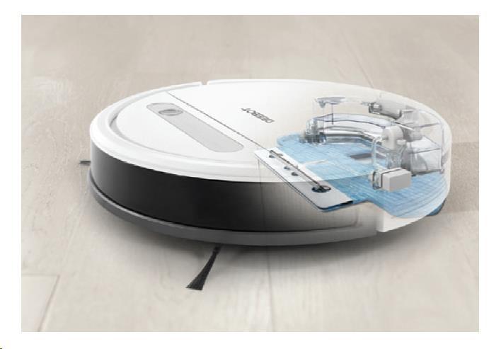 Ecovacs O610 - Robot pro čištění podlah s technologií OZMO, inteligentní čistící dráha, ovládání pom - obrázek č. 1