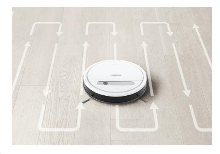 Ecovacs O610 - Robot pro čištění podlah s technologií OZMO, inteligentní čistící dráha, ovládání pom - obrázek č. 3