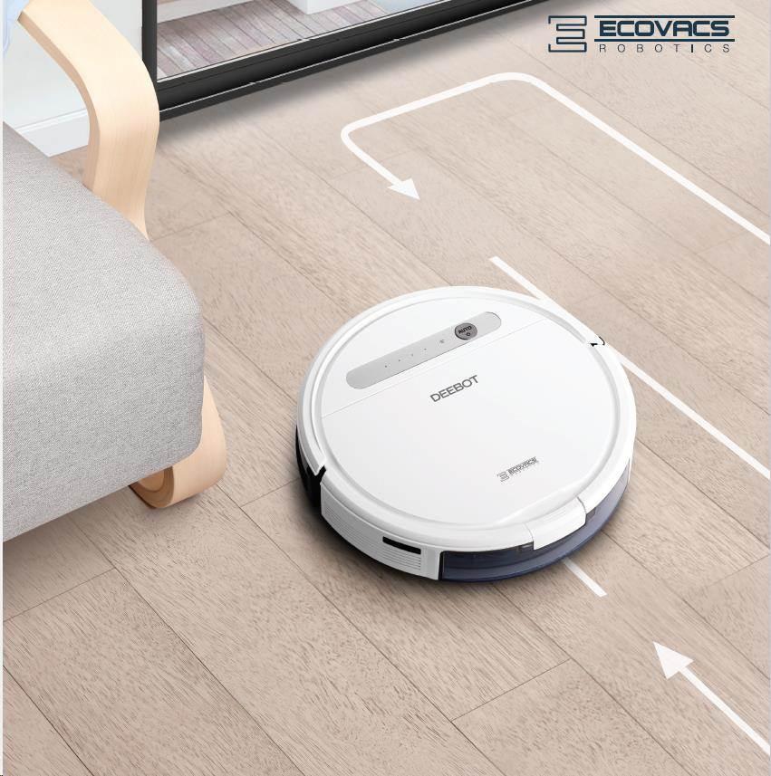 Ecovacs O610 - Robot pro čištění podlah s technologií OZMO, inteligentní čistící dráha, ovládání pom - obrázek č. 0