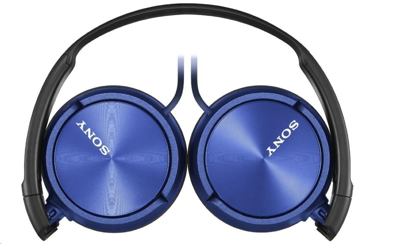Sony Sluchátka stereo, modrá MDR-ZX310L - obrázek č. 1