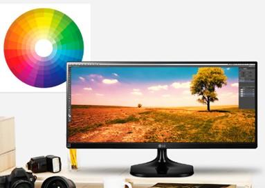 "LG 25UM58 25"" LED monitor - obrázek č. 1"