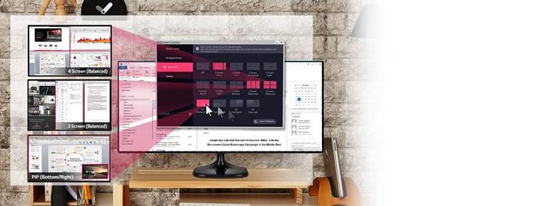 "LG 25UM58 25"" LED monitor - obrázek č. 3"