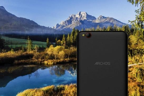 ARCHOS Diamond Gamma, Dual SIM, 3GB, 32GB, černá - obrázek č. 1