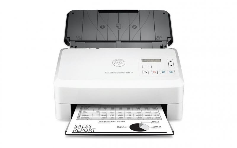 HP ScanJet Enterprise Flow 5000 s4 Sheet-Feed Scanner (A4, 600 dpi, USB 3.0, USB 2.0, Duplex) - obrázek č. 0