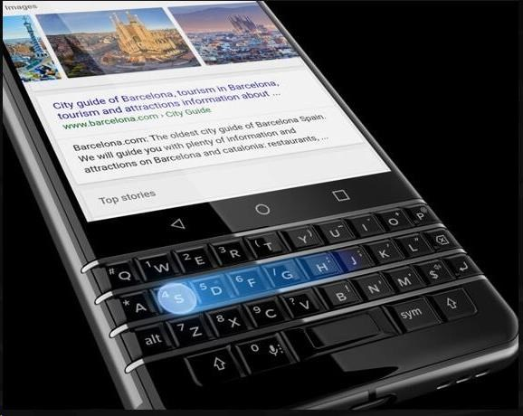 BlackBerry KEYone QWERTY Black Edition - obrázek č. 2