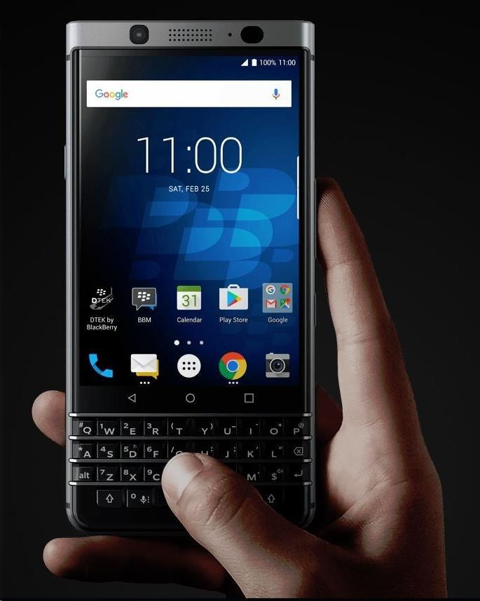 BlackBerry KEYone QWERTY Black Edition - obrázek č. 3