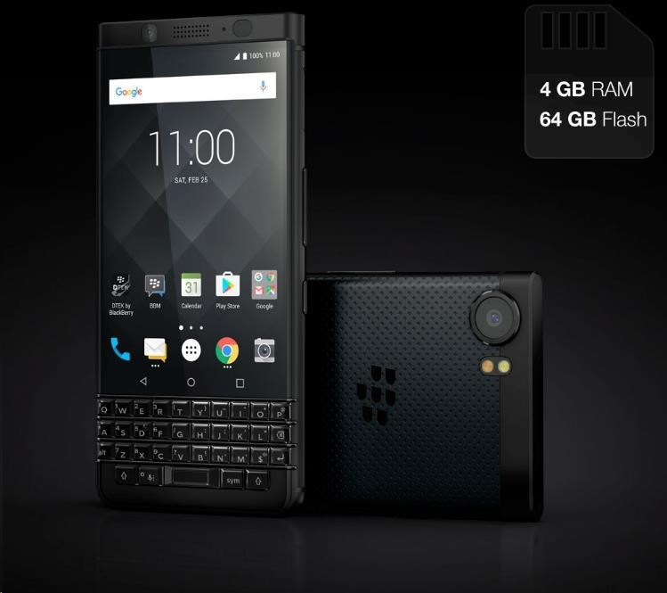 BlackBerry KEYone QWERTY Black Edition - obrázek č. 0