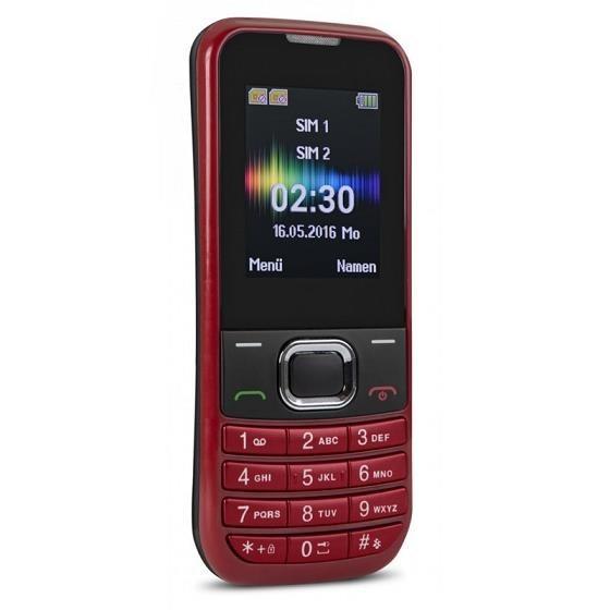 Swisstone SC230 Dual SIM, červená - obrázek č. 1