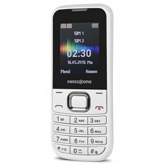 Swisstone SC230 Dual SIM, bílá - obrázek č. 0