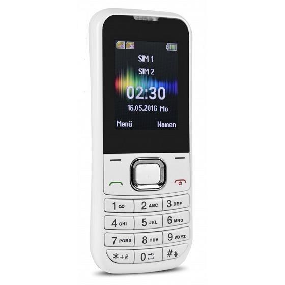 Swisstone SC230 Dual SIM, bílá - obrázek č. 1