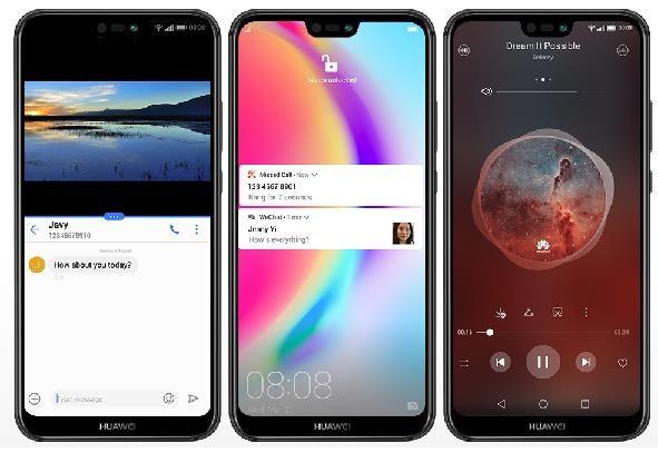 Huawei P20 Lite, Dual SIM, černá - obrázek č. 5
