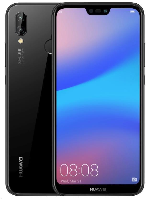 Huawei P20 Lite, Dual SIM, černá - obrázek č. 3