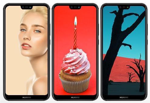 Huawei P20 Lite, Dual SIM, černá - obrázek č. 2