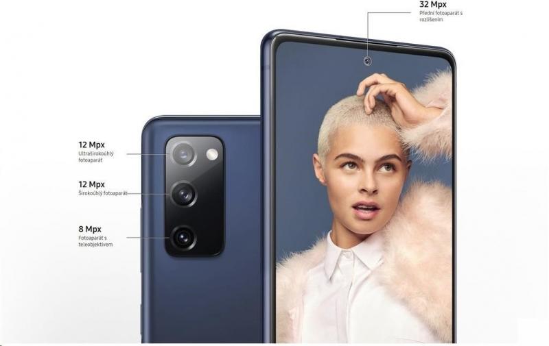 Samsung Galaxy S20 FE, 6GB/128GB, 5G, Navy Blue 100Kč slevový kód na LEGO (kombinovatelný, max. 1ks/objednávku) - obrázek č. 3