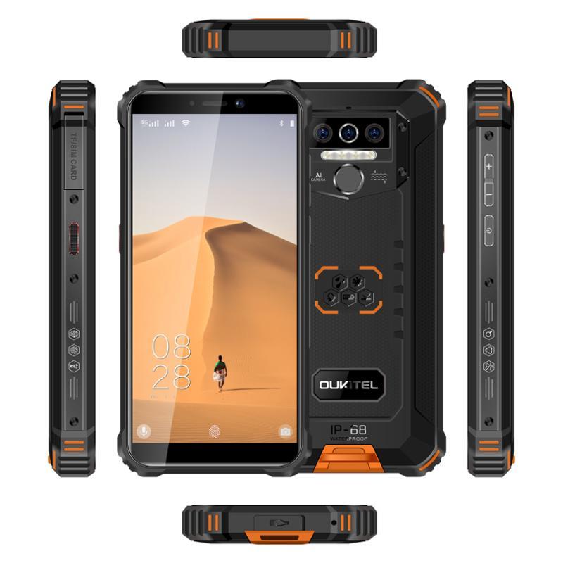 Oukitel WP5 4/32 GB DS, Black - obrázek č. 0