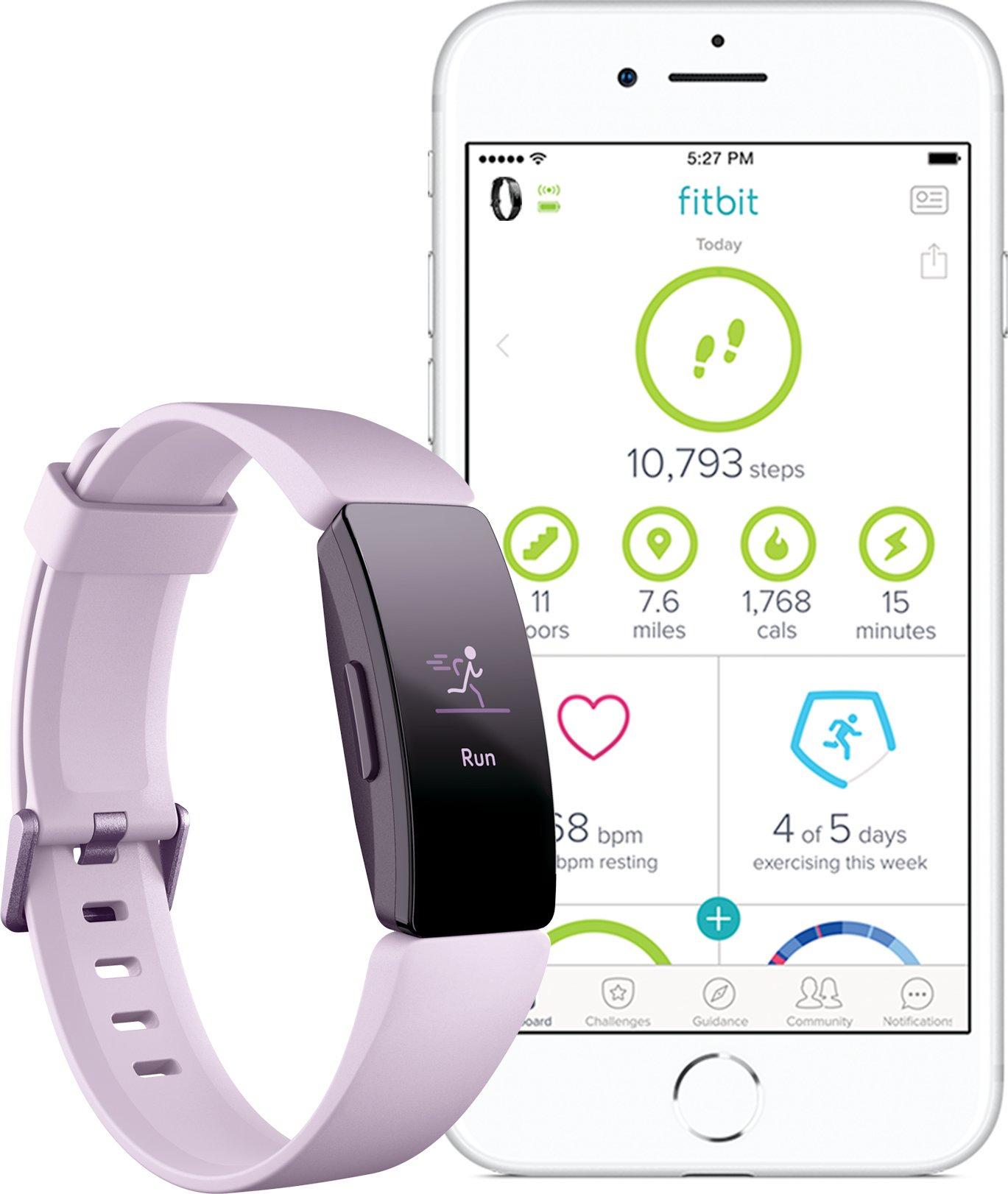Fitbit Inspire HR, růžová - obrázek č. 0