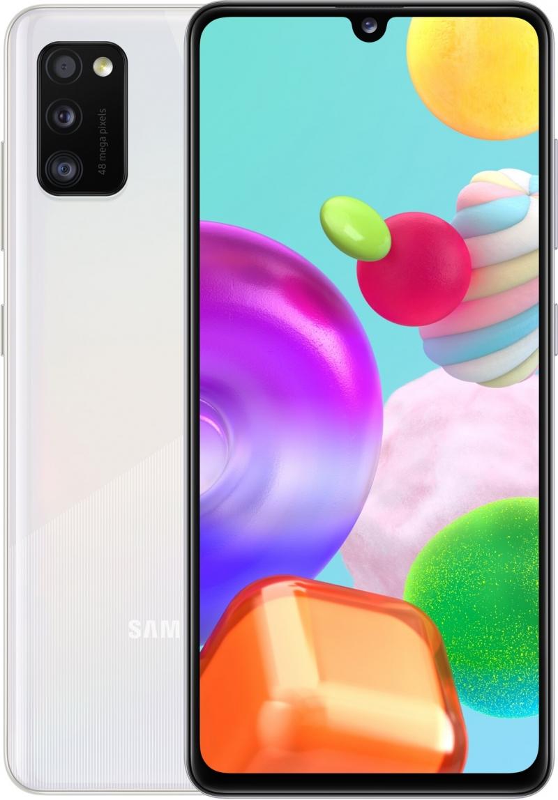 Samsung Galaxy A41, 4GB / 64GB, White - obrázok č. 0