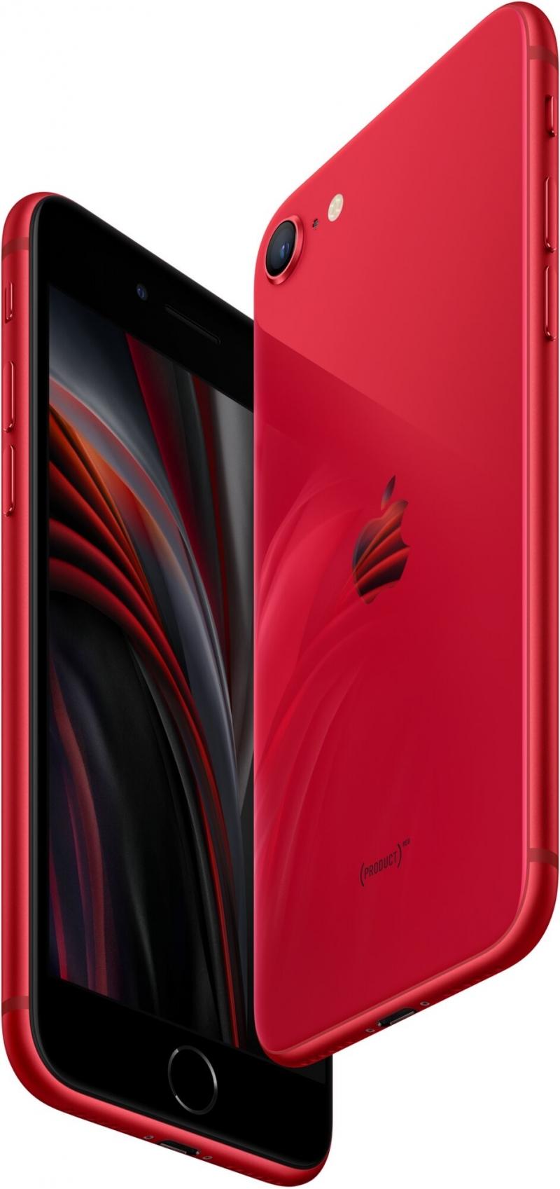 Apple iPhone SE 2020, 64GB, (PRODUCT)RED Apple TV+ na rok zdarma Elektronické předplatné čtiva v hod - obrázek č. 0