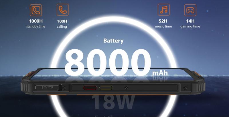 OUKITEL WP7 8GB/128GB Orange - obrázek č. 4